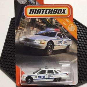 Matchbox Chevy Caprice Classic Police Car
